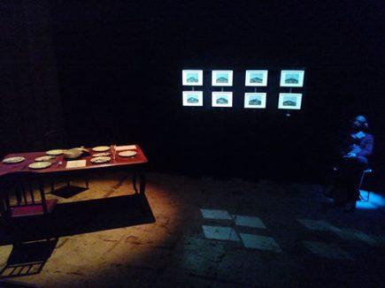 Vue de l'exposition Les Origines-Le Spleen