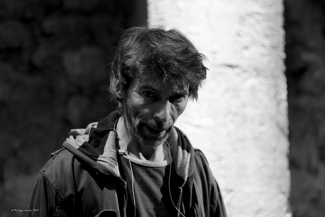 Fred Guittet dans L'Homme seul ©Philippe Hanula
