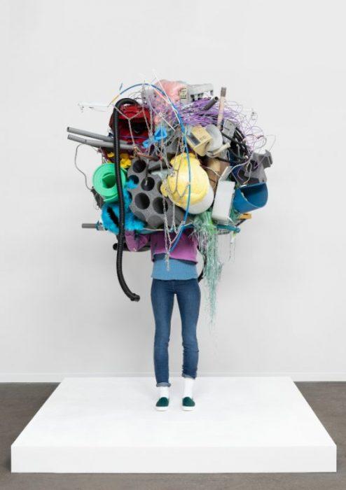 Daniel Firman. Raw (Acrylic, resin, polyurethane, foam, steel, acrylic, clothes, various objects) - Courtesy C&B © Hugard et Vanoverschelde Photography